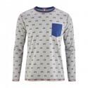T-shirt de pyjama Bio imprimé vélos