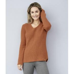 Pull femme laine et coton Bio