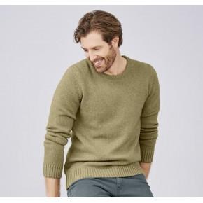 Pull homme laine et coton Bio