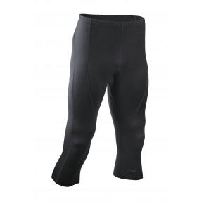 Leggings Bio laine soie Homme noir