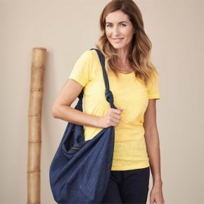 Grand sac en jean en coton Bio