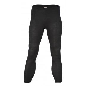 Leggings homme en laine mérinos noir