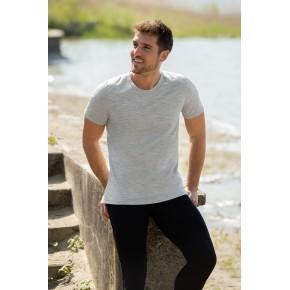 T-shirt Engel Sports homme laine mérinos et soie gris