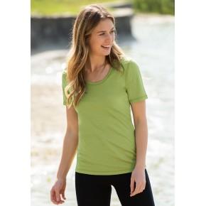 T-shirt femme en laine merinos