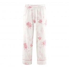 Pantalon de pyjama 7/8 Coton Bio magnolia