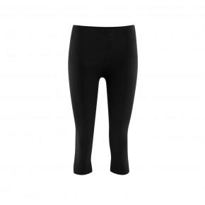Leggings 3/4 en coton Bio noir