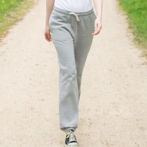 Pantalon de jogging homme en coton Bio gris chiné