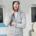 Veste à capuche homme en coton Bio Living Crafts