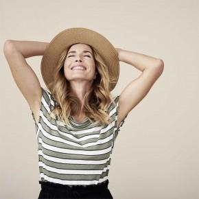 T-shirt femme en lin et coton bio Living Craft