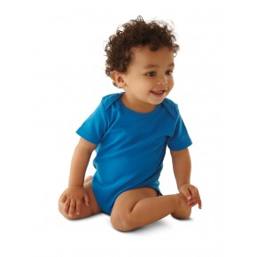 Body bébé en coton Bio blanc
