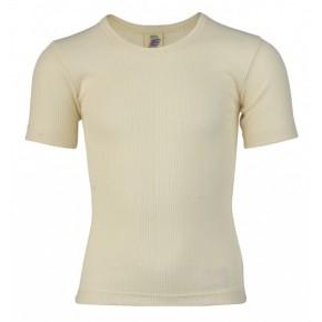 T-shirt enfant 100 % coton Bio écru naturel