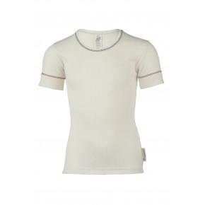 T-shirt enfant 100% coton Bio écru naturel