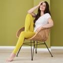 Leggings en coton Biologique jaune