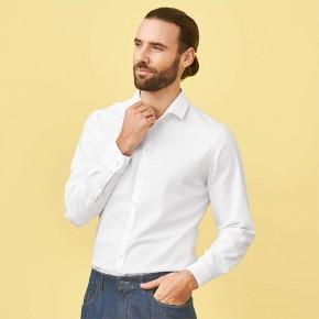 Chemise blanche homme en Coton Biologique