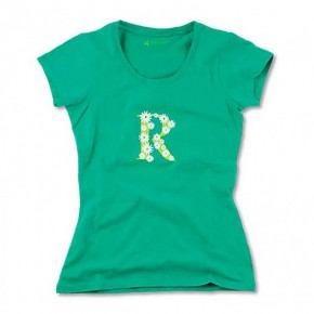 T-shirt Bio imprimé marguerite