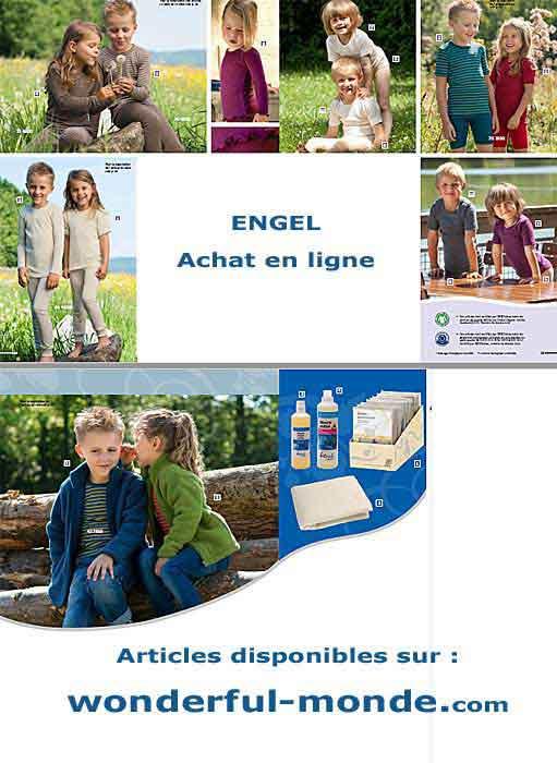 catalogue Engel Bio enfant et bébé