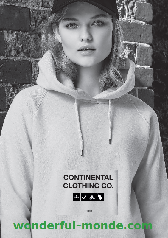 catalogue Continental Clothing 2019