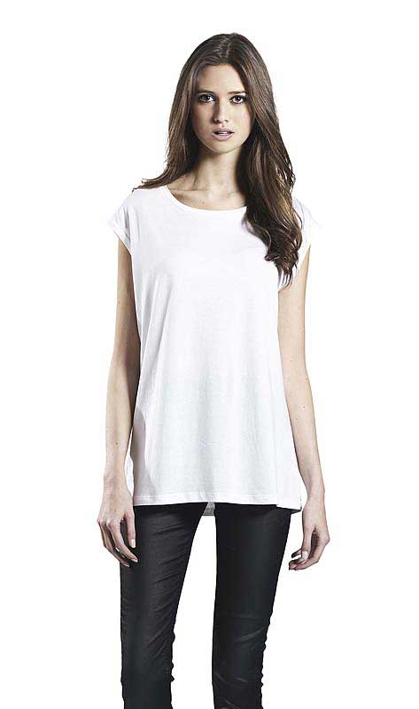 T-shirt sans manches en tencel