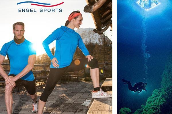 Engel Sports, vêtements de sport Bio, en laine mérinos biologique et soie
