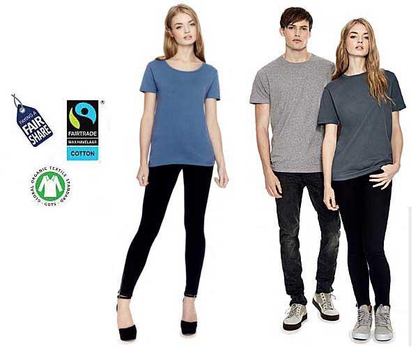 Vêtements éthiques et équitables en coton biologique