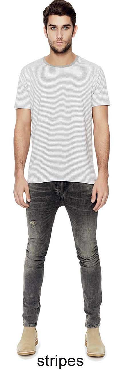 tee-shirt Bio rayé