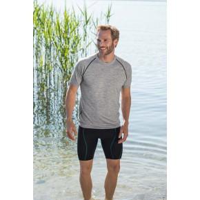 T-shirt sport laine merinos Bio Homme