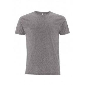 T-shirt EarthPositive Homme coton Bio, gris foncé