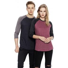 T-shirt Bio et recyclé à manches longues, homme et femme