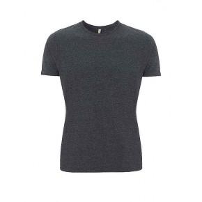 t-shirt bio et 100% recyclé noir chiné