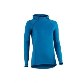 Sweat à capuche de sport bleu femme