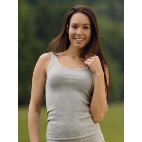 Déardeur femme en coton Bio gris
