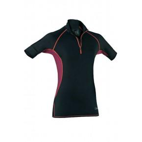 T-shirt de sport zippé femme
