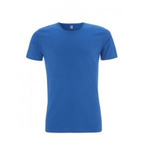 T-shirt Bio homme bleu roi