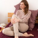 Pyjama femme 100% coton Bio Living Crafts