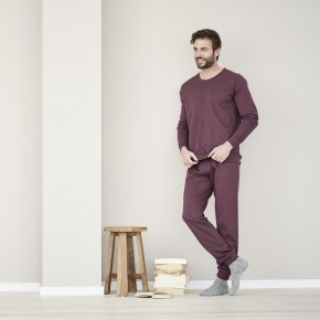 Pyjama homme 100% coton biologique