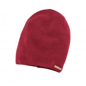 Bonnet en coton Bio rouge carmin
