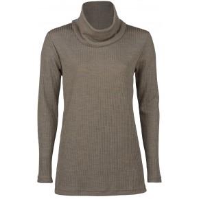 Tunique en laine et soie