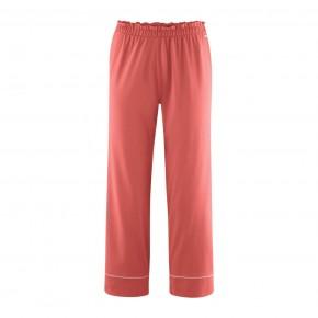 Pantalon de pyjama 7/8 Coton Bio blush