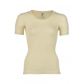 T-shirt femme à manches courtes 100% laine mérinos