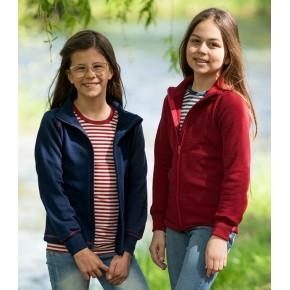 Veste enfant 100% laine vierge