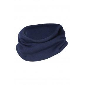 Echarpe loop enfant laine et bleu marine