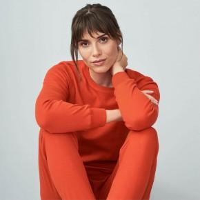 Pyjama femme 100% coton Bio écru naturel