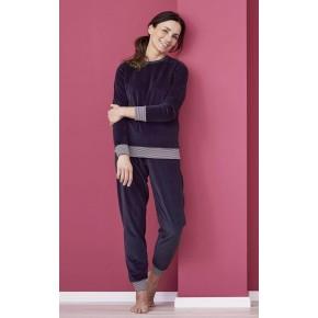 Pyjama en velours 100% coton Bio