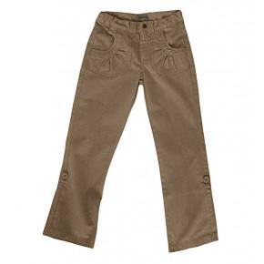 Pantalon fille en coton équitable