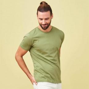 T-shirt homme coton Bio rouge