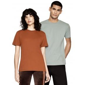 T-shirt blanc en coton Bio unsiexe