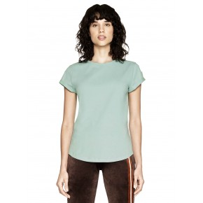 T-shirt femme en coton biologique vert menthe