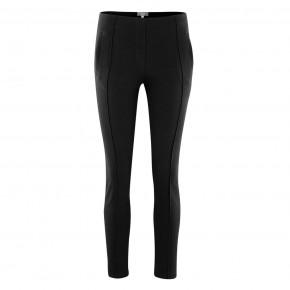 Pantalon femme détente en coton Bio noir