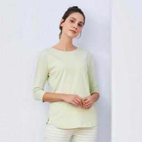 Haut de pyjama manches longues 100% coton Bio