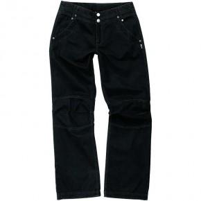 Pantalon femme en coton équitable noir